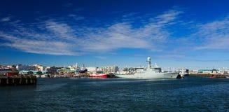 Puerto de Keykjavik foto de archivo