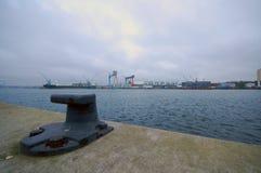 Puerto de Kiel Imágenes de archivo libres de regalías