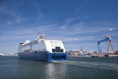Puerto de Kiel foto de archivo libre de regalías