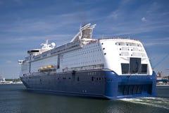 Puerto de Kiel imagenes de archivo