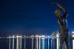 Puerto de Klaipeda Fotos de archivo