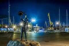 Puerto de Klaipeda Foto de archivo