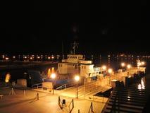 Puerto de Klaipeda, Lituania Foto de archivo