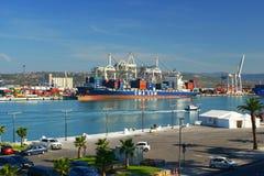 Puerto de Koper, Eslovenia Imágenes de archivo libres de regalías
