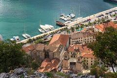 Puerto de Kotor Fotos de archivo