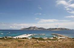 Puerto de Koufonissia imagen de archivo