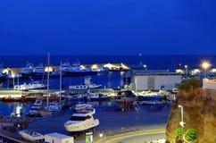 Puerto de L ` Ametlla de Fördärva Royaltyfria Foton
