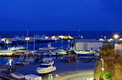 Puerto de L ` Ametlla De mars photos libres de droits