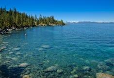 Puerto de la arena - parque de estado de Tahoe-Nevada del lago Imagen de archivo