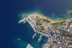 Puerto de la ciudad Imagen de archivo