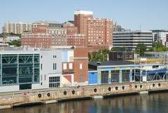Puerto de la ciudad de Halifax Imagen de archivo libre de regalías