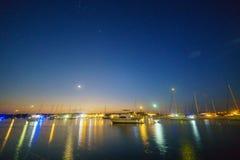 Puerto de la ciudad de la esperanza Fotografía de archivo