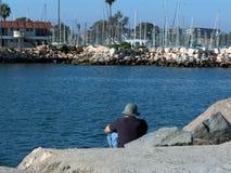 Puerto de la costa Imagenes de archivo