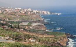 Puerto DE La cruz stock afbeelding