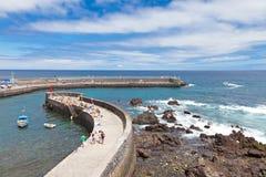 Puerto de la Cruz Immagine Stock