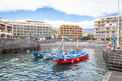 Puerto de la Cruz Fotografia Stock Libera da Diritti