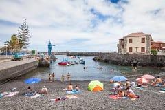 Puerto de la Cruz Fotografia Stock