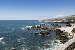 Puerto de la Cruz Imagen de archivo libre de regalías
