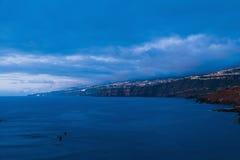 Puerto de la Cruz royalty-vrije stock afbeeldingen