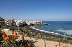 Puerto de la Cruz stock afbeeldingen