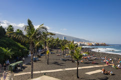 Puerto de la Cruz royalty-vrije stock afbeelding
