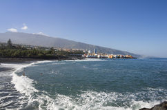 Puerto de la Cruz Royalty Free Stock Photos