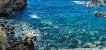 Puerto de la Cruz, ilha de Tenerife imagem de stock royalty free