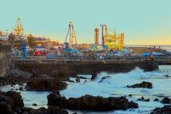 2019-01-12, Puerto de la Cruz, Santa Cruz de Tenerife lizenzfreie stockfotos