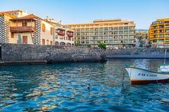 2019-01-12, Puerto de la Cruz, Santa Cruz de Tenerife imagens de stock