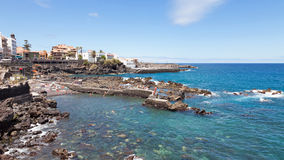 Puerto de la Cruz Royalty Free Stock Photo