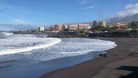 Puerto de la Cruz, Tenerife stock videobeelden