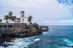 Puerto de la Cruz, Tenerife. Canary islands royalty free stock photography