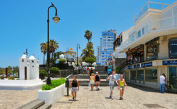 Puerto de la Cruz, Tenerife, Canary Islands, Spain Stock Photography