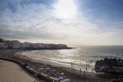 Puerto de la Cruz Royalty Free Stock Photography