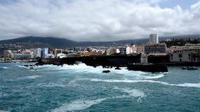 Puerto de la Cruz, Tenerife stock video footage