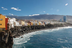 Puerto de la Cruz, Tenerife, Spain Royalty Free Stock Image