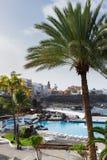 Puerto de la Cruz, Tenerife, Spain Stock Image