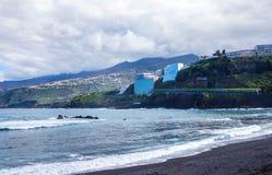 Puerto de la Cruz, Teneriffa-Insel, Spanien lizenzfreie stockfotografie