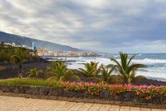 Puerto De La Cruz View Imagenes de archivo