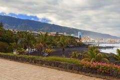 Puerto de la cruz view Stock Photos