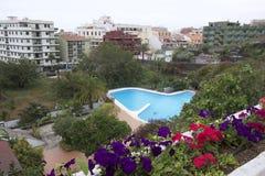 PUerto de la Cruz views, Tenerife stock images