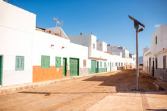 Puerto de la Cruz village on Fuerteventura island Stock Photo