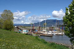 Puerto de la herencia, museo marítimo de Vancouver fotografía de archivo libre de regalías