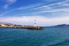 Puerto de la isla de Aegina Fotos de archivo