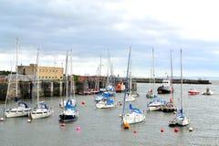 puerto de la isla de barry, puerto deportivo el Sur de Gales, Reino Unido Fotos de archivo