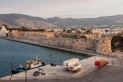 Puerto de la isla de Kos Fotografía de archivo libre de regalías