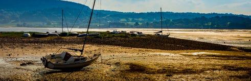 Puerto de la marea baja Imagenes de archivo
