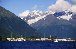 Puerto de la montaña Fotos de archivo libres de regalías
