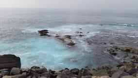 Puerto de la Nieves Arkivfoton
