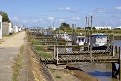 Puerto de la ostra de en Retz de Les Moutiers Fotografía de archivo libre de regalías
